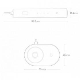 Xiaomi Mijia Sonic Smart Toothbrush Sikat Gigi Elektrik DDYS01SKS - White - 8