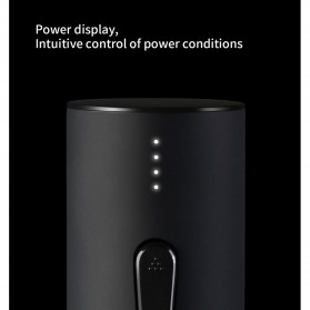 Xiaomi Mijia Huohou Automatic Wine Bottle Opener Pembuka Botol Elektrik - Black - 5