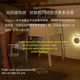Xiaomi Aqara Motion Human Body Smart Sensor for Xiaomi Multifunctional Gateway - RTCGQ11LM - White - 2