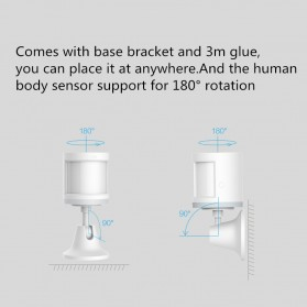 Xiaomi Aqara Motion Human Body Smart Sensor for Xiaomi Multifunctional Gateway - RTCGQ11LM - White - 3