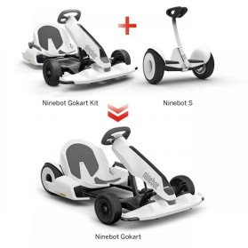 Xiaomi Ninebot Electric Gokart Kit for Xiaomi Ninebot Scooter - N4MZ98 - White - 5