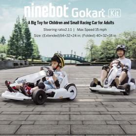 Xiaomi Ninebot Electric Gokart Kit for Xiaomi Ninebot Scooter - N4MZ98 - White - 7
