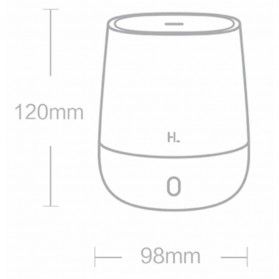 Xiaomi Mijia Youpin Happy Life Aromatherapy Humidifier RGB Light 120ML - HL-EOD01 - White - 11