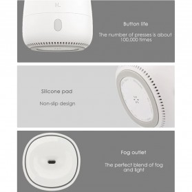 Xiaomi Mijia Youpin Happy Life Aromatherapy Humidifier RGB Light 120ML - HL-EOD01 - White - 7