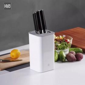 Xiaomi Mijia Huohou Tempat Pisau Dapur Stand Tool Knife Holder - White