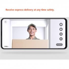 Xiaomi Bel Pintu Video Doorbell Zero AI Face Identification 720P IR Night Vision (Doorbell Only) - White - 4