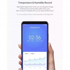 Xiaomi Mijia E-Ink Jam Meja Thermostat Thermometer Hygrometer Humidity Sensor Bluetooth - LYWSD02MMC - White - 10