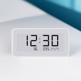 Xiaomi Mijia E-Ink Jam Meja Thermostat Thermometer Hygrometer Humidity Sensor Bluetooth - LYWSD02MMC - White - 3