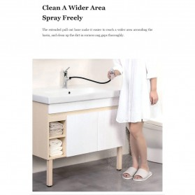 Xiaomi Dabai Keran Air Bathroom Basin Sink Kitchen Shower 2 Spray Mode - DXMP002 - Silver - 8