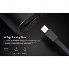 Xiaomi Mijia Zhibai Electric Shaver Alat Cukur 2 Head Rechargeable - SL2 - Black - 6