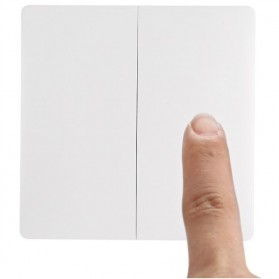 Xiaomi Aqara Saklar Wireless Double Switch Zigbee Version - WXKG07LM - White - 2