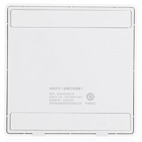 Xiaomi Aqara Saklar Wireless Double Switch Zigbee Version - WXKG07LM - White - 3