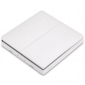 Xiaomi Aqara Saklar Wireless Double Switch Zigbee Version - WXKG07LM - White - 5