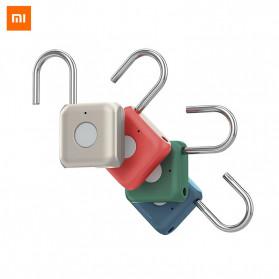 Xiaomi Mijia Youdian Gembok Koper Rumah Smart Fingerprint Padlock -YD-K1 - Golden - 3