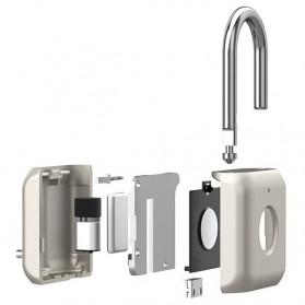 Xiaomi Mijia Youdian Gembok Koper Rumah Smart Fingerprint Padlock -YD-K1 - Golden - 4