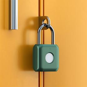 Xiaomi Mijia Youdian Gembok Koper Rumah Smart Fingerprint Padlock -YD-K1 - Golden - 7