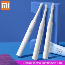 Xiaomi Mijia T100 Sonic Sikat Gigi Elektrik 3PCS - MES603 - White