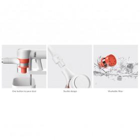 Xiaomi Mijia Penyedot Debu Handheld Wireless Vacuum Cleaner - 1C - White - 9