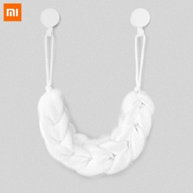 Xiaomi Qualitell Sponge Mandi Shower Cleaning Bath Strip - White
