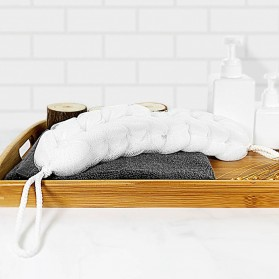 Xiaomi Qualitell Sponge Mandi Shower Cleaning Bath Strip - White - 2