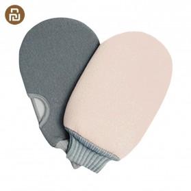 Xiaomi Qualitell Sarung Tangan Wash Cloth Sponge Mandi Shower Cleaning Bath - Mix Color - 3