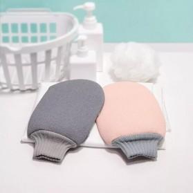 Xiaomi Qualitell Sarung Tangan Wash Cloth Sponge Mandi Shower Cleaning Bath - Mix Color - 4