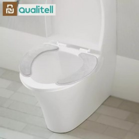 Youpin Qualitell Toilet Seat Mat Cover Dudukan WC Warm Soft Washable - White