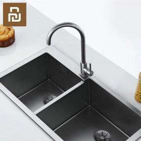 Xiaomi VIOMI Keran Air Panas Dingin Stainless Steel Lead-free Faucet - C-003YM - Silver - 2
