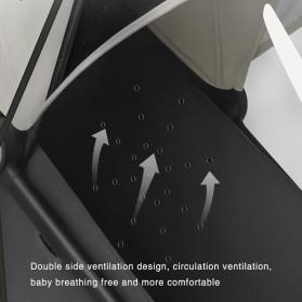 Xiaomi Mitu Kereta Dorong Bayi Baby Stroller Waterproof -  PG06 - Blue - 3