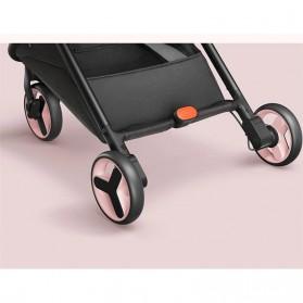 Xiaomi Mitu Kereta Dorong Bayi Baby Stroller Waterproof -  PG06 - Blue - 4