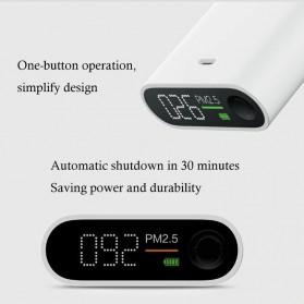 Xiaomi SmartMi Portable PM2.5 Detector Mini Air Quality Tester - KLWJCY01ZM - White - 8