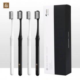 Xiaomi DR.BEI Doctor B Sikat Gigi Toothbrush with Travel Box 4 PCS - White - 2