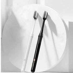 Xiaomi DR.BEI Doctor B Sikat Gigi Toothbrush with Travel Box 4 PCS - White - 3