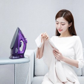 Xiaomi Mijia Lofans Cordless Steam Iron Setrika Uap 2000W - YD-012V - Purple - 4