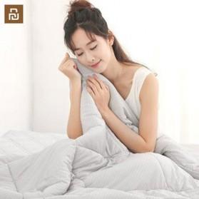 Xiaomi Mijia 8H Selimut Bed Cover Anti Bakteri Breathable Bedding Quilt 180x200cm- L1 - Gray - 3