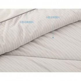 Xiaomi Mijia 8H Selimut Bed Cover Anti Bakteri Breathable Bedding Quilt 180x200cm- L1 - Gray - 5
