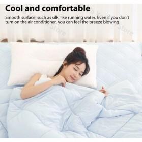 Xiaomi Mijia 8H Selimut Bed Cover Anti Bakteri Breathable Bedding Quilt 180x200cm- L1 - Gray - 6