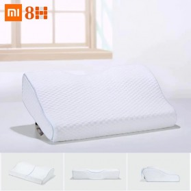 Xiaomi 8H Butterfly Memory Foam Pillow Bantal Tidur Pillow Cotton - H2 - White