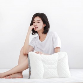 Xiaomi 8H Bantal Tidur Sleeping Pillow Relieve Shoulder and Neck - RG1 - White - 4