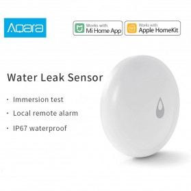 Xiaomi Aqara Water Sensor Flood Leak Alarm Detector for Xiaomi Multifunctional Gateway - SJCGQ11LM - White