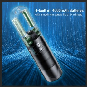 Xiaomi 70mai Penyedot Debu Car Vacuum Cleaner Wireless Handheld Portable 5000pa - PV01 - Black - 5