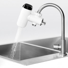 Xiaomi Mijia Xiaoda Keran Air Panas Dingin Instant Heating Cold Faucet - HD-JRSLT06 - White - 2