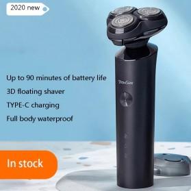 ShowSee Alat Cukur Elektrik Electric Shaver 3 Head Rechargeable - F1-BK - Black