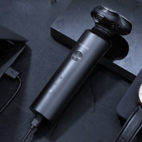 ShowSee Alat Cukur Elektrik Electric Shaver 3 Head Rechargeable - F1-BK - Black - 6