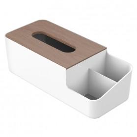 Orico Kotak Tisu Multifungsi dengan Storage Box - TMB-18 - White