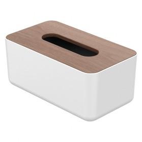 Orico Kotak Tisu Multifungsi dengan Storage Box - TMB-16 - White