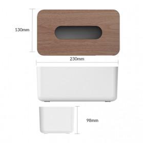 Orico Kotak Tisu Multifungsi dengan Storage Box - TMB-16 - White - 2