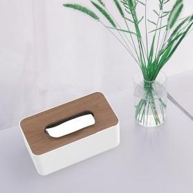 Orico Kotak Tisu Multifungsi dengan Storage Box - TMB-16 - White - 4