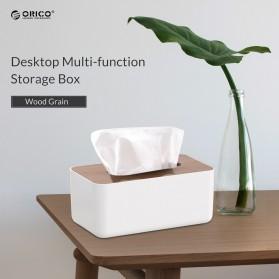 Orico Kotak Tisu Multifungsi dengan Storage Box - TMB-16 - White - 5