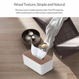 Orico Kotak Tisu Multifungsi dengan Storage Box - TMB-16 - White - 6